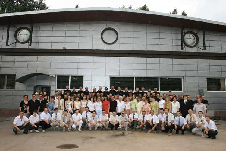 GlobeCore office and employees. Oil recycling equipment manufacturer.