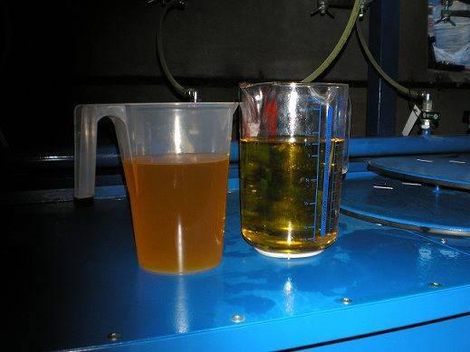regeneración de aceites usados