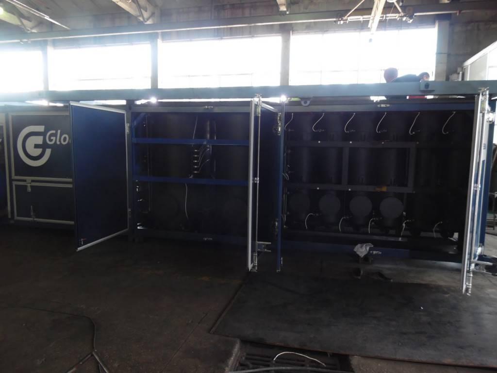 GlobeCore oil filtration machine