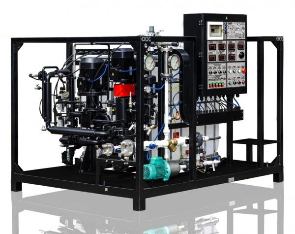 sistema para producción de emulsión bituminosa