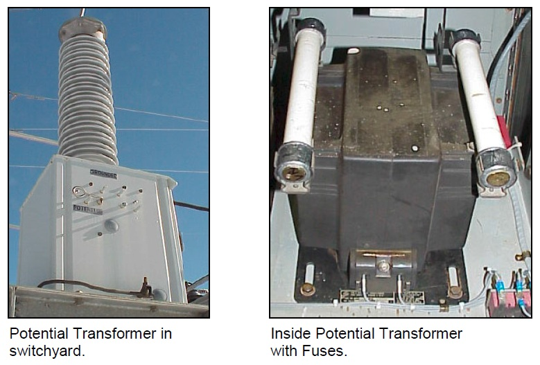 Figure 11 – Potential Transformers