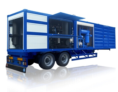 Mineral Oil Processing Equipment: Transformer Oil Reclamation,  Industrial Oil Filtration, Turbine Oil Purification.