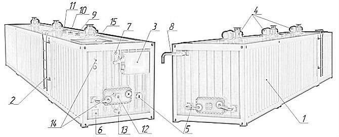 Bitumen Emulsion Storage Tank