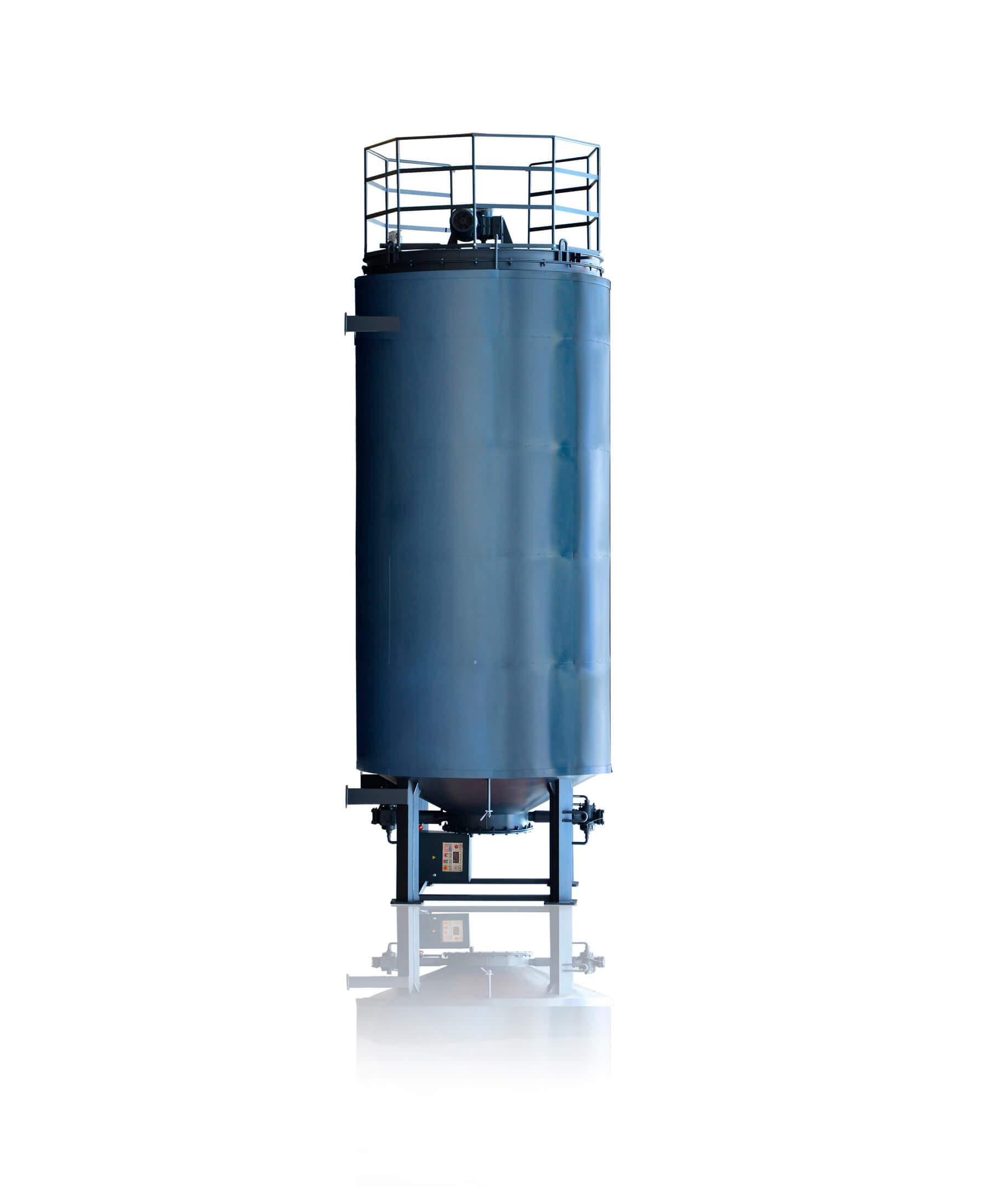 Sammelbehälter für Bitumenemulsion