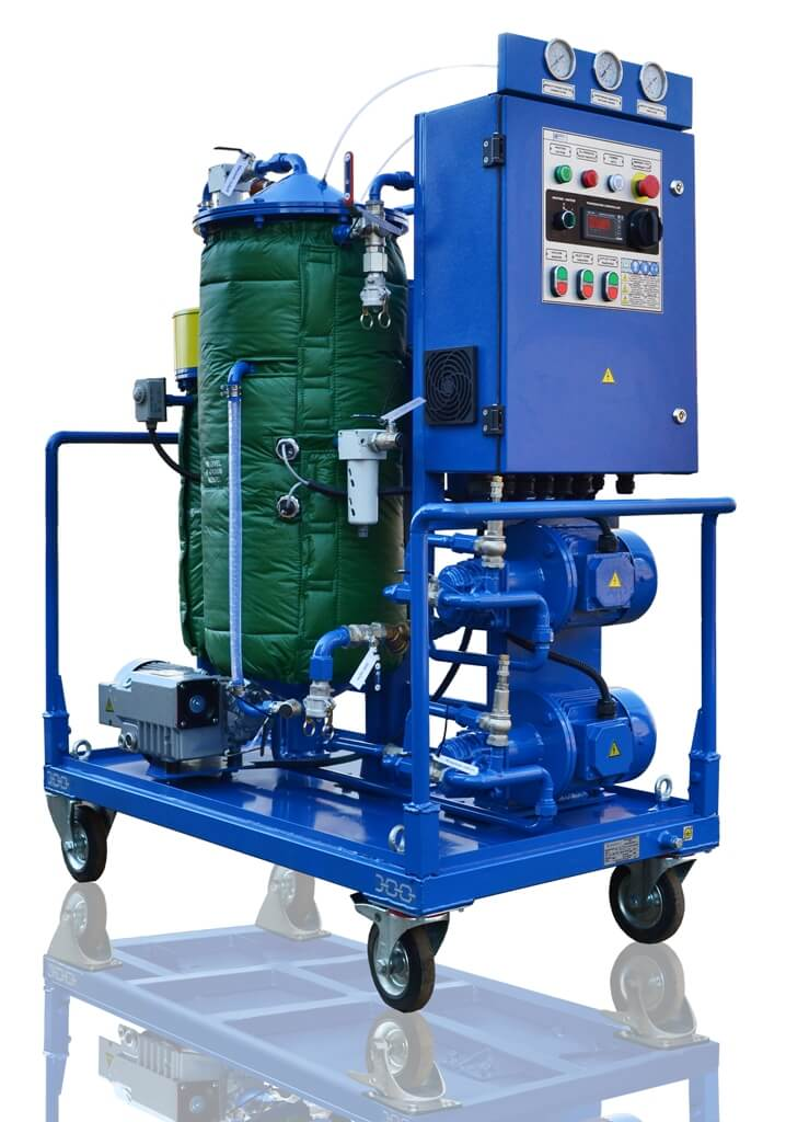 oil filtration cart СММ 0.6