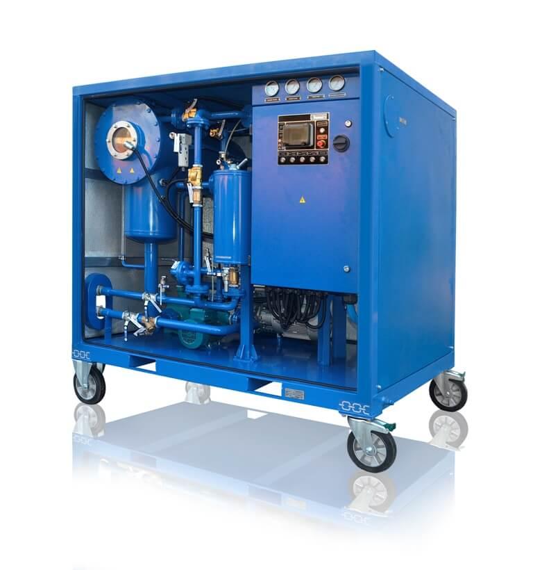 thermal vacuum drying
