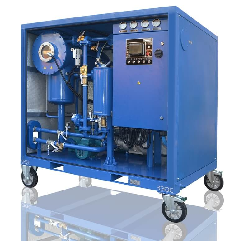 Cmm 2 2 Mobile Oil Plant Globecore Oil Purification