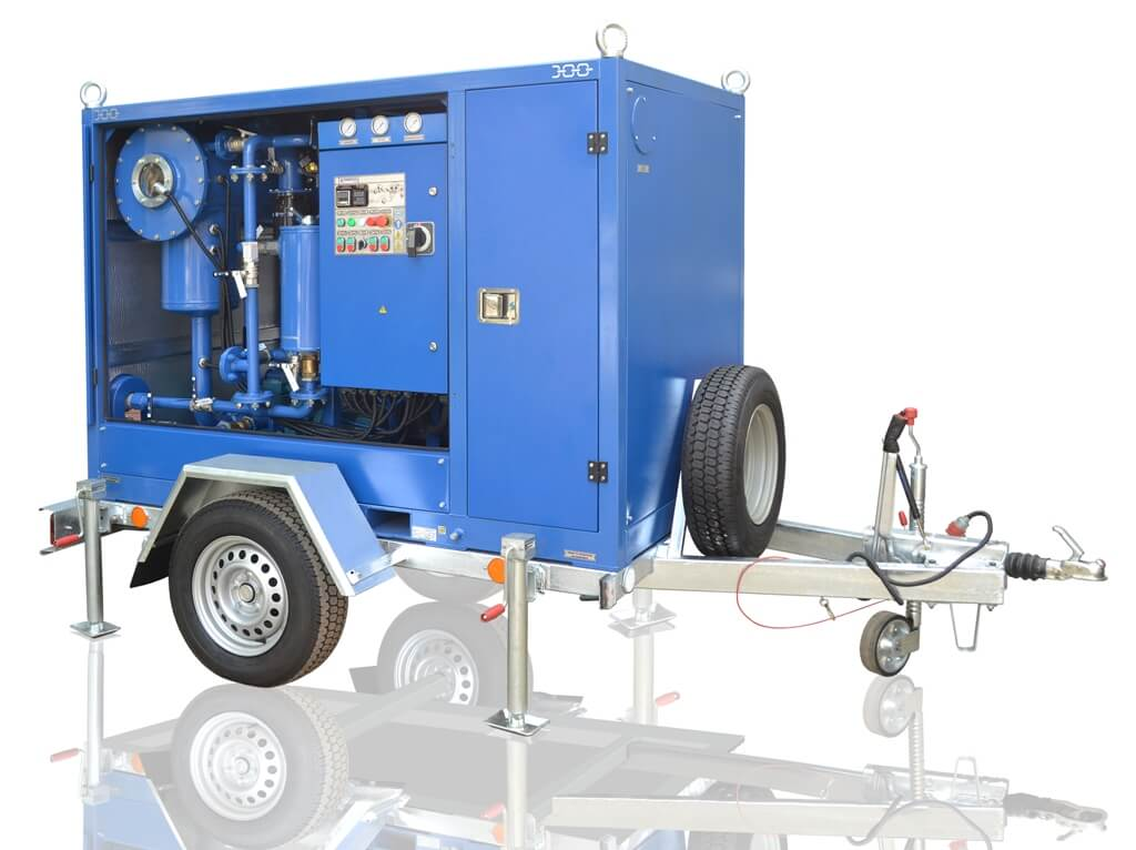 UVM-4/7 Mobile oil plant