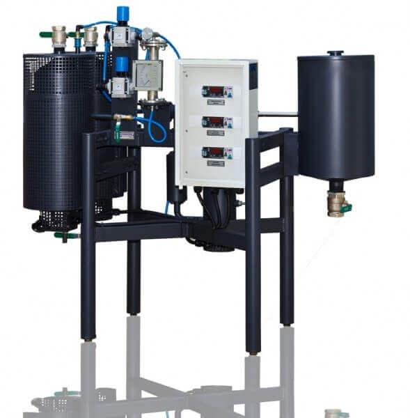 unidad de emulsión bituminosa (laboratorio)