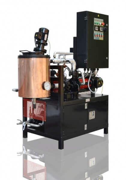 unidad de asfalto modificado (laboratorio)