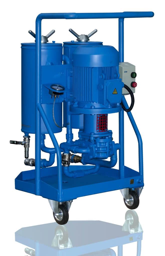 CFU Oil filtration unit