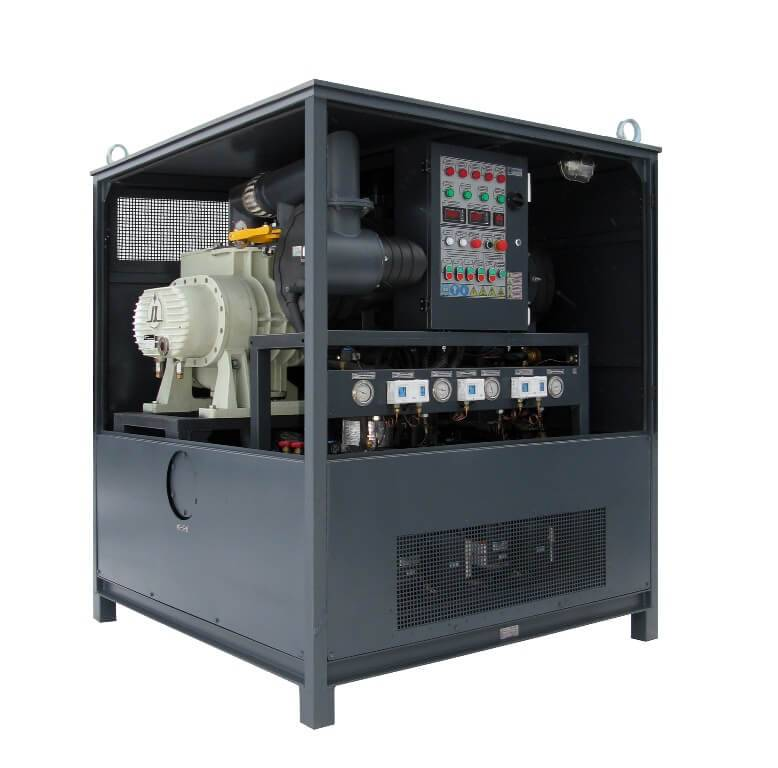 Oil refrigeration system