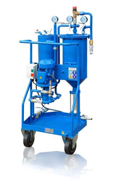 CFU Oil filtration unit