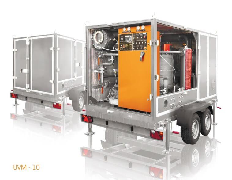 degassing equipment
