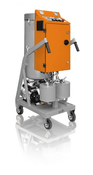 СММ-0,6 OIL DEGASSING & OIL FILTRATION CART