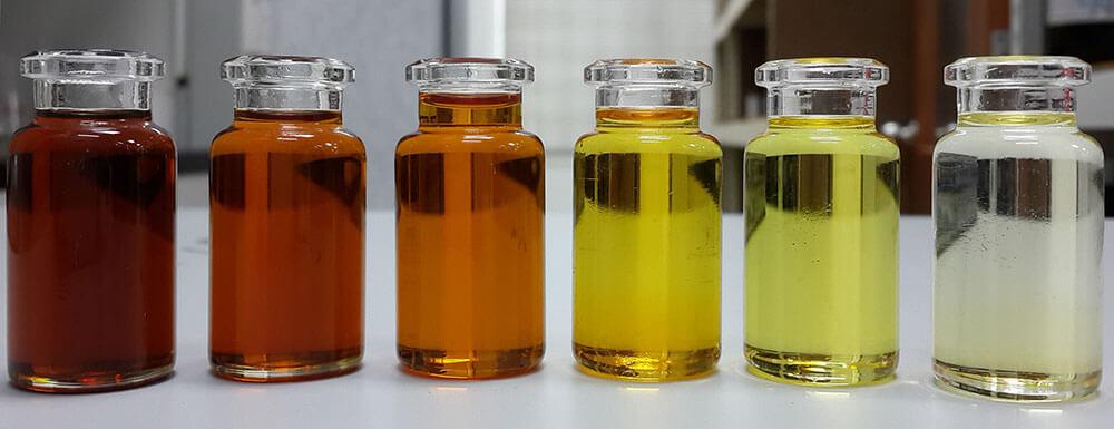 análisis de aceite de transformador