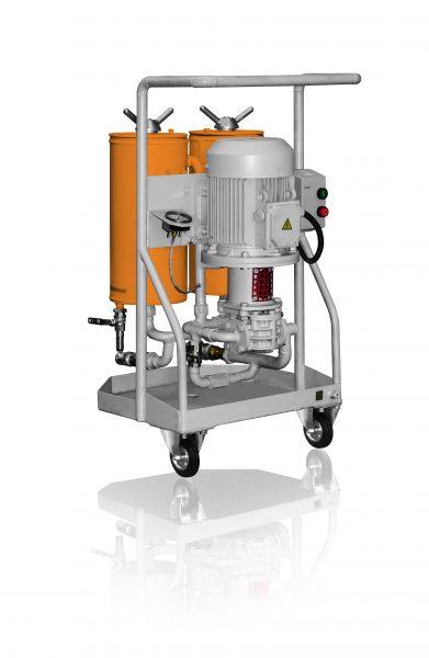 unidad de filtración de aceite hidráulica