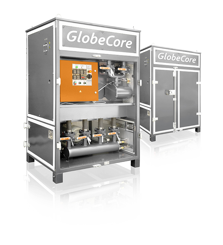 Air Drying Units : Mojave heat hot air dryer unit globecore oil