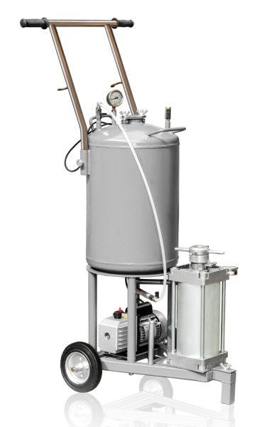 Bombeo de aceite del transformador UVD