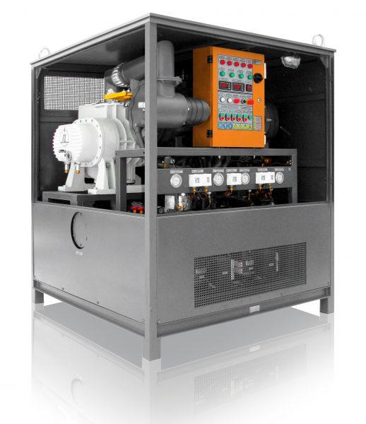unidad de secado de transformador