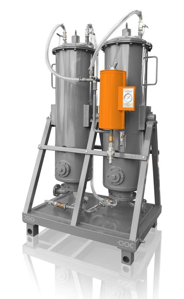 sistema de secado de aceite