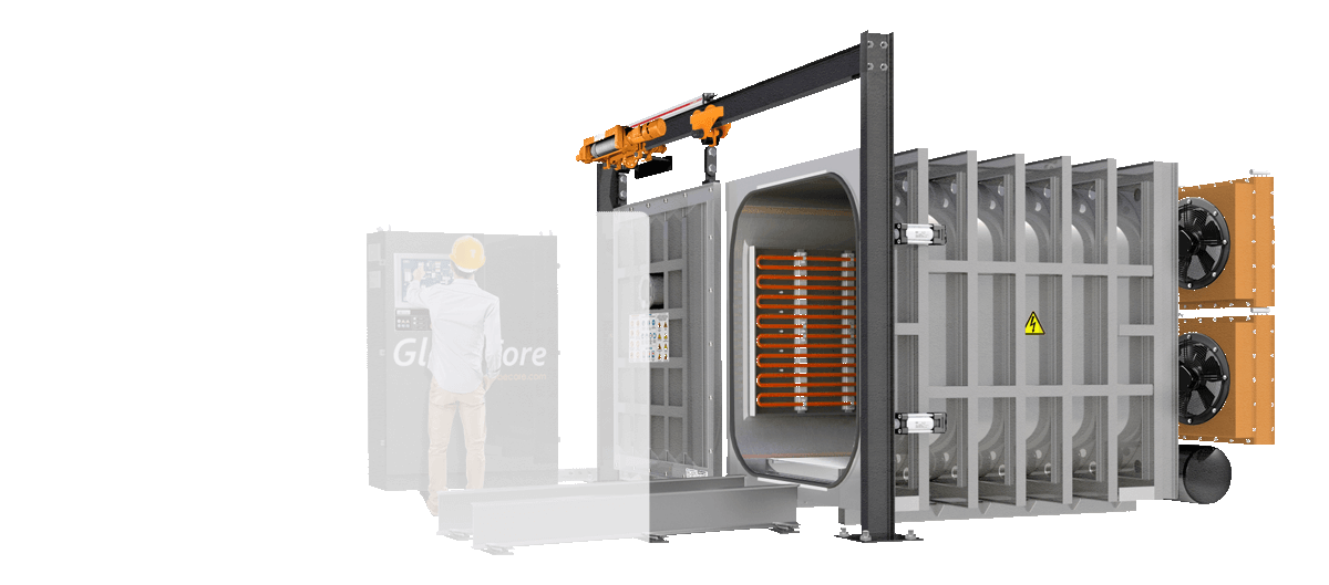 Transformer vacuum furnace