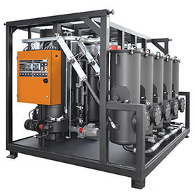 Sorbent Reactivation System transformer oil recovery equipment