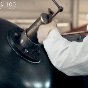 pulverizacion de tetroxido de