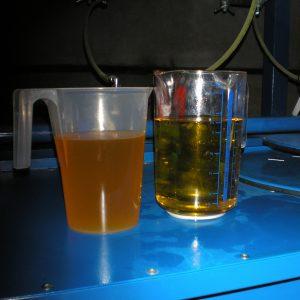 désulfuration de l'huile