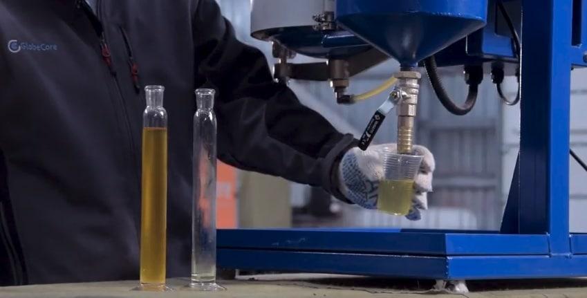 Oil purification processes