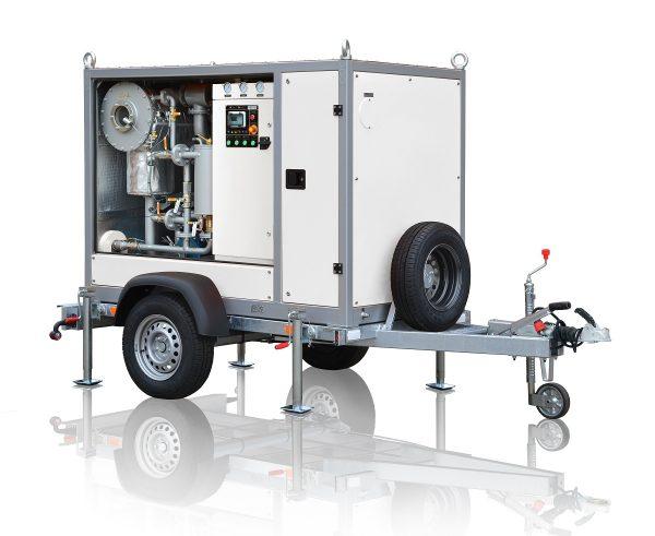 máquina de tratamiento de aceites