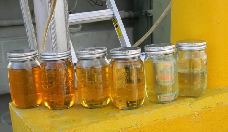 recuperación de aceite de transformador
