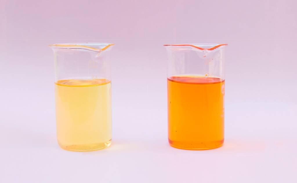 regeneración química de aceite