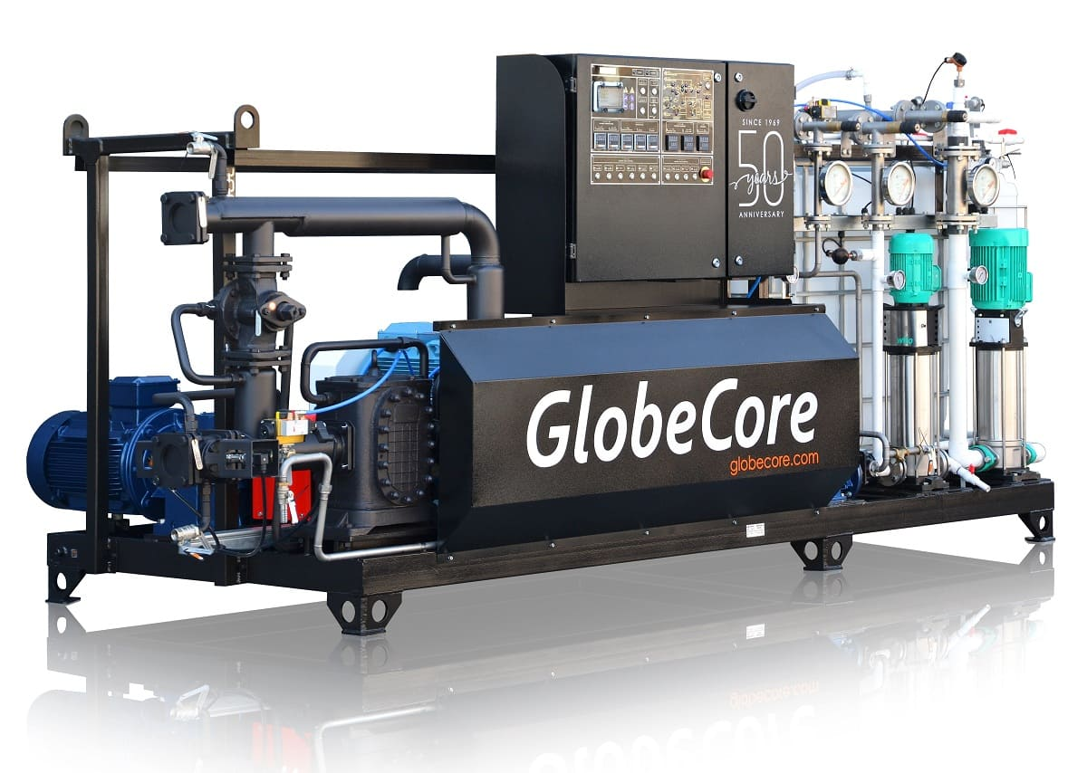 UVB-1 Bitumen emulsion plant 8 m3/hour production Globecore