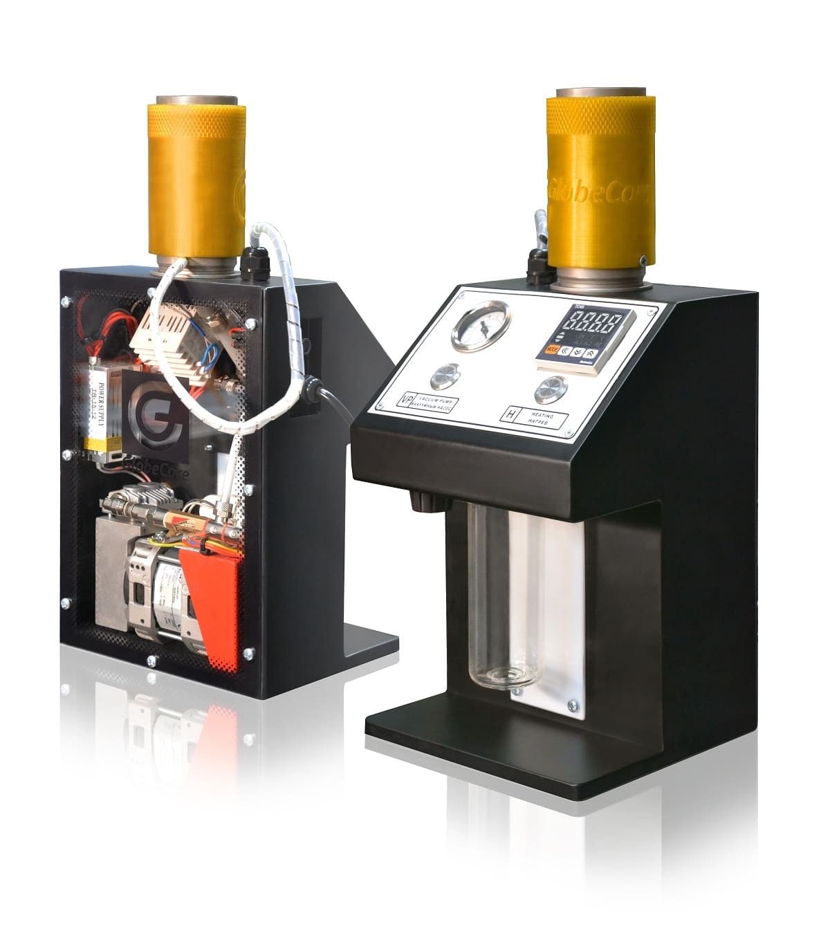 laboratorio unidad de filtración de aceite